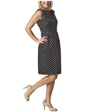 Black Polka  Dress on What Would Emma Pillsbury Wear   February 2011