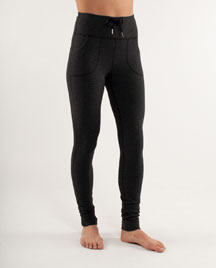 lululemon will pant in black