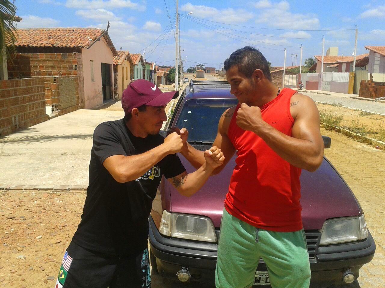 CONTRA MESTRE PINTADO E O LUTADO DE MMA REINALDO EKSON