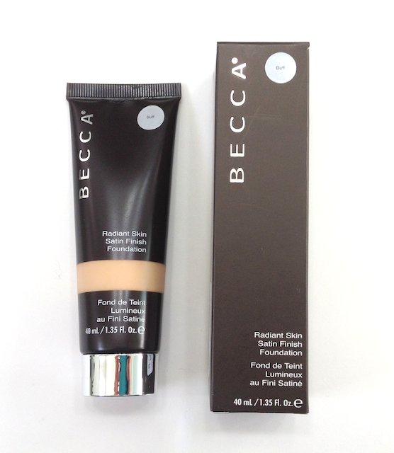 becca radiant skin satin finish foundation buff