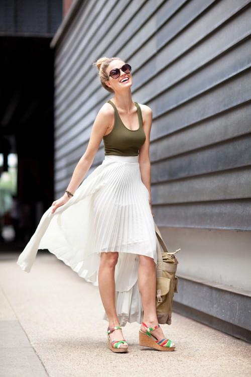 street style primavera verano 2012