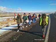 Longest Walk 4 walks nears Carson City, Nevada