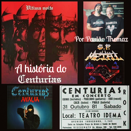 A história do Centurias e o álbum SP Metal (1984)