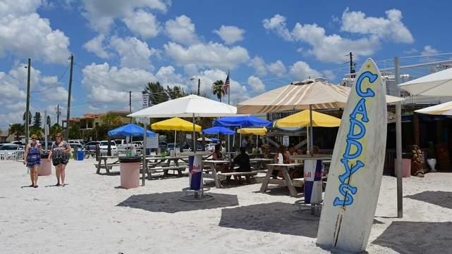 Caddy S On The Beach Treasure Island Fl