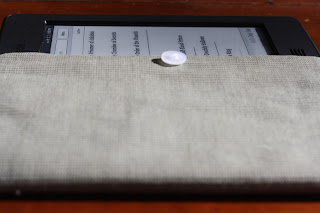 homemade kindle touch case