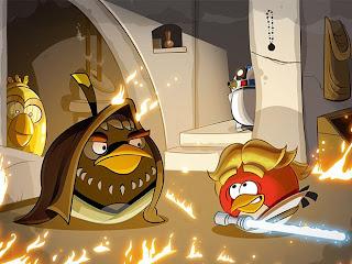 Angry Birds en una galaxia muy lejana