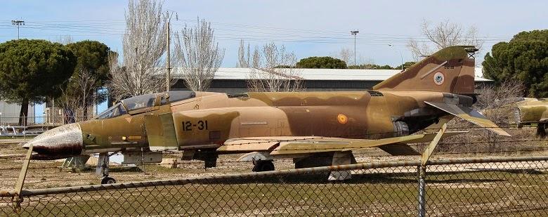 Phantom F-4 abandonados