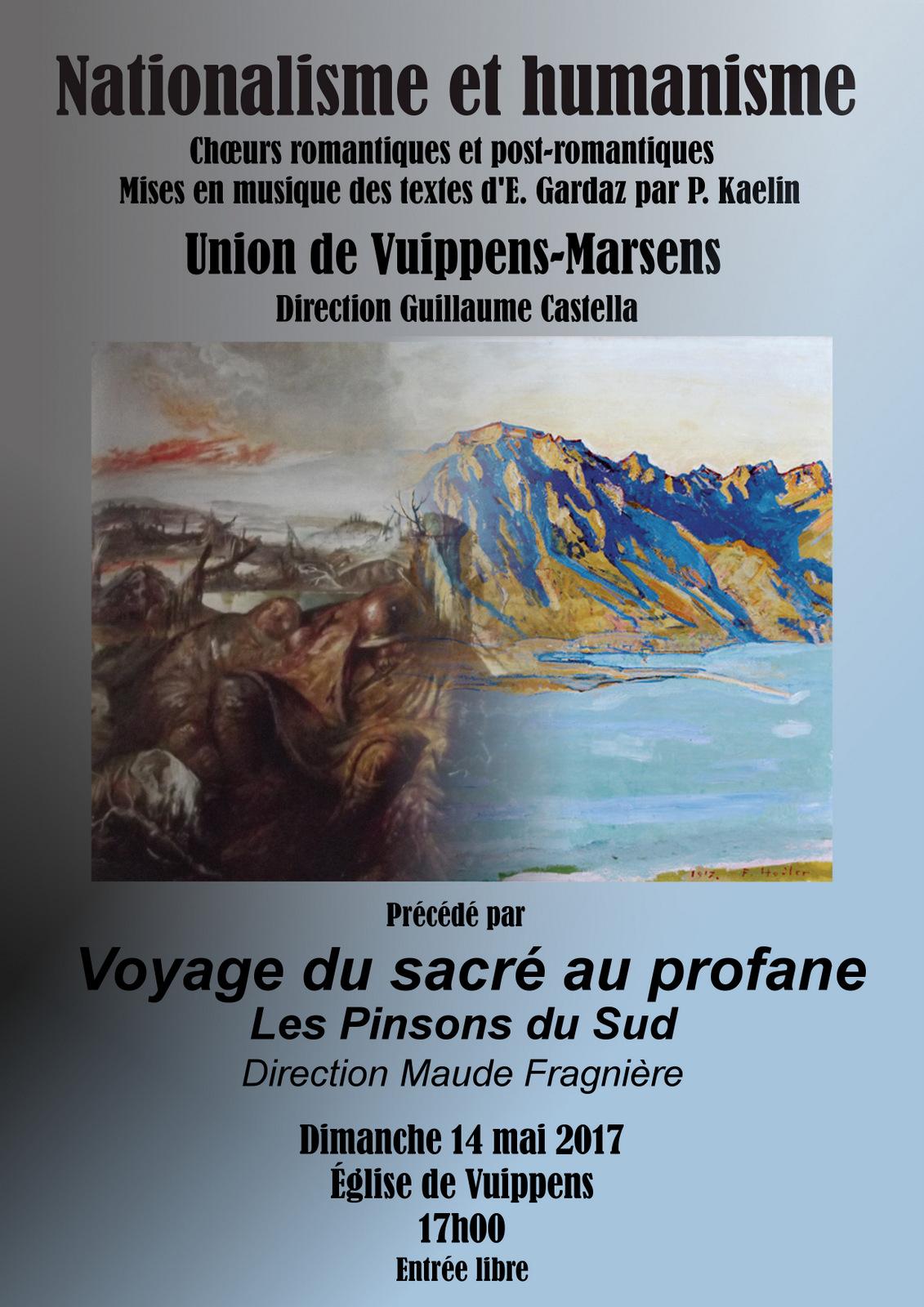 Concert de L' Union Vuippens - Marsens