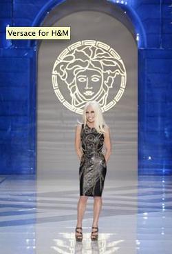 Esther Paris Versace Pour H M Soir E De Lancement New York