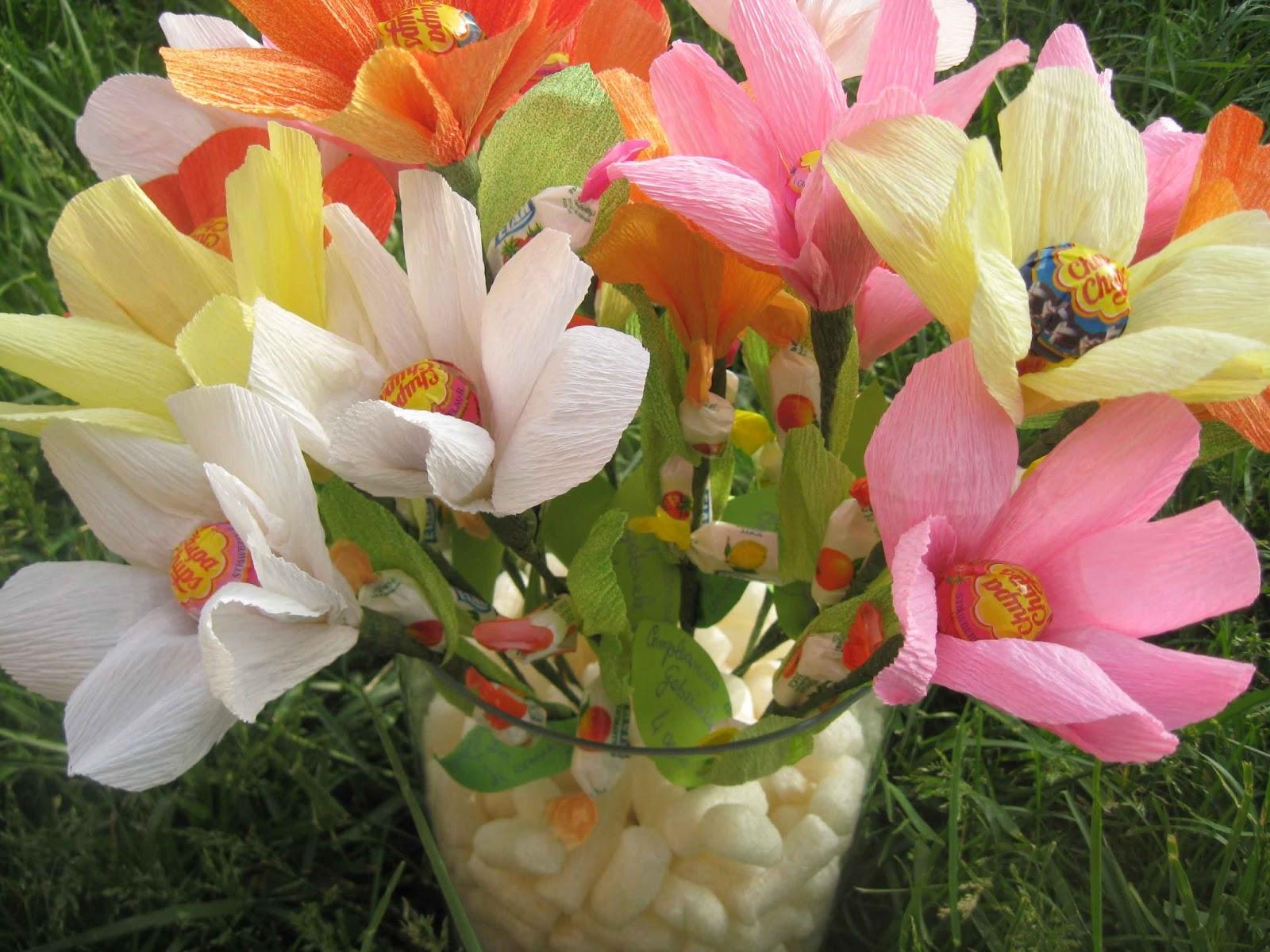 Estremamente 1 post creativo al giorno: #147/365 Favors di compleanno a fiore RN58