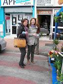 Lola Rodriguez con Alicia Martinez