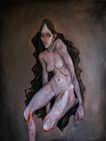 victor otero carbonell desnudo manta negra
