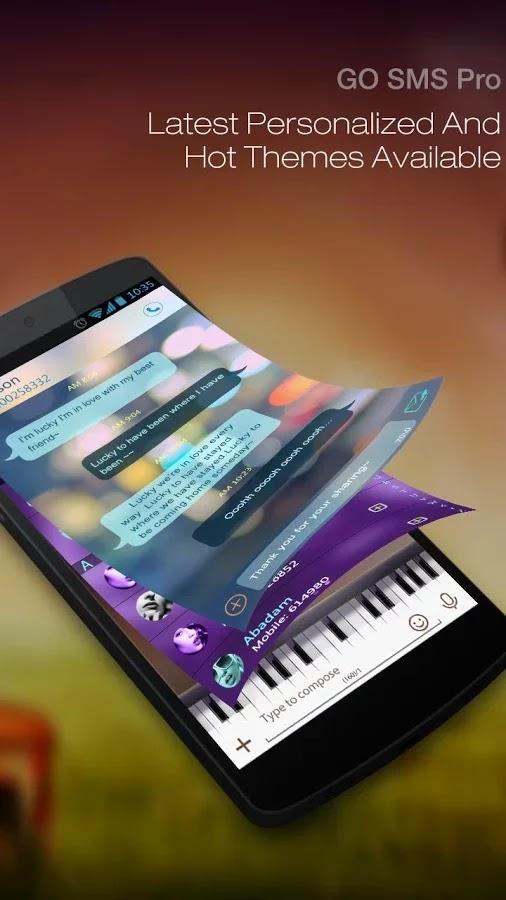 GO SMS Pro Premium v5.61 build 243