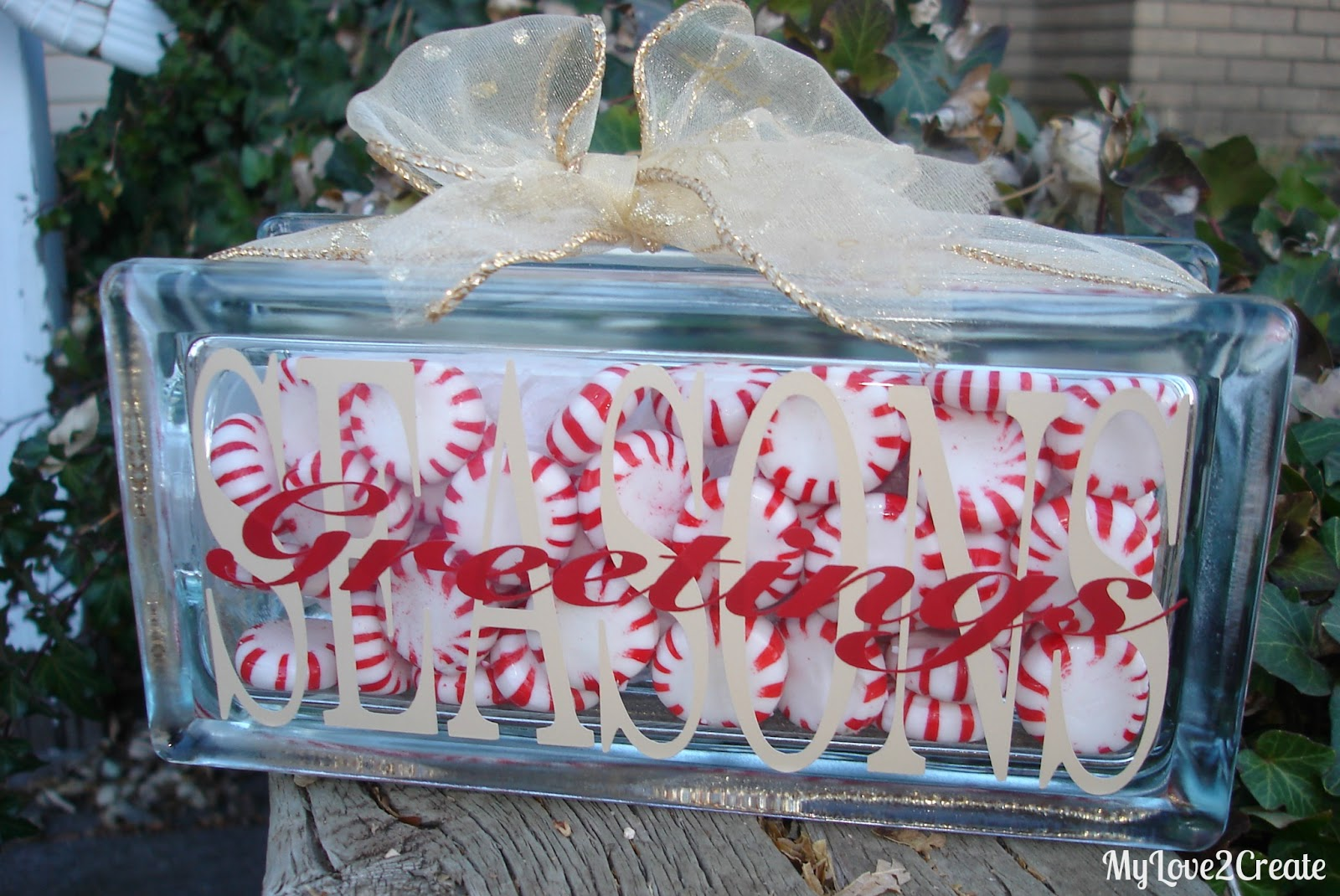 this was the result much better - Christmas Glass Blocks