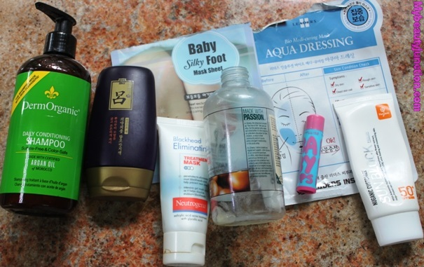 Beauty products emptied in May 2014