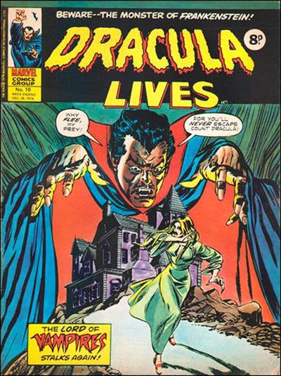 Marvel UK, Dracula Lives #10