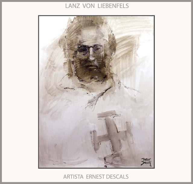 MISTICA-MISTICOS-ARTE-PINTURA-ALEMANIA-AUSTRIA-LANZ VON LIEBENFELS-PERSONAJES-HISTORIA-RETRATOS-ARTISTA-PINTOR-ERNEST DESCALS-