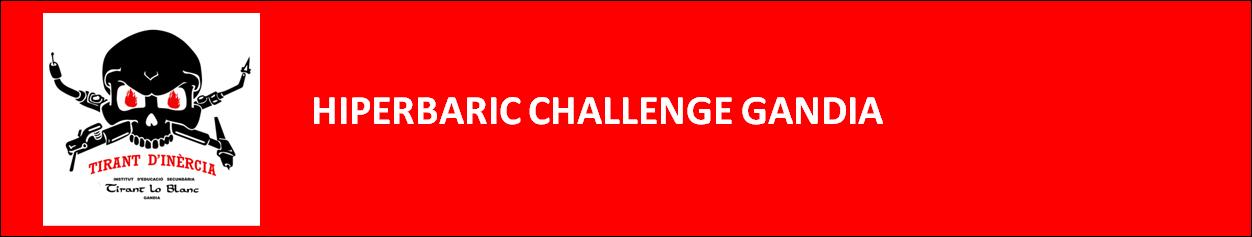 PROJECTE HIPERBARIC CHALLENGE GANDIA