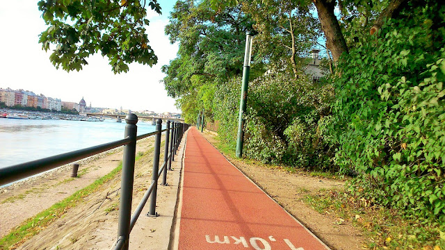 Budapest Margaret island running track Hungary