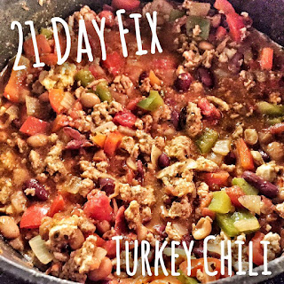 21 day fix, turkey chili, fixate, clean eating, recipe