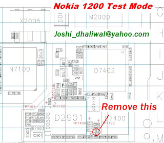Trik Jumper Nokia 1208 Test Mode