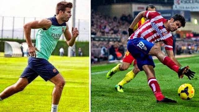 عودة المصابين قبل نهائي برشلونة و اتلتيكو مدريد