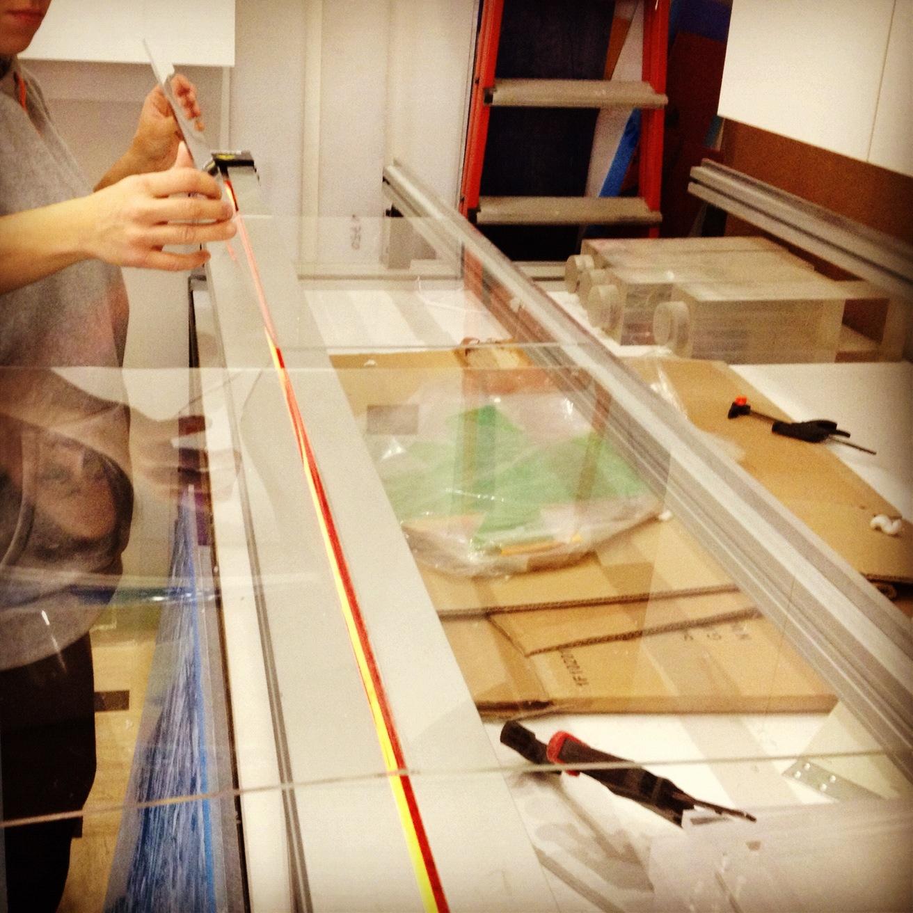 Base appoggio lavabi legno grezzo - Mensole bagno plexiglass ...
