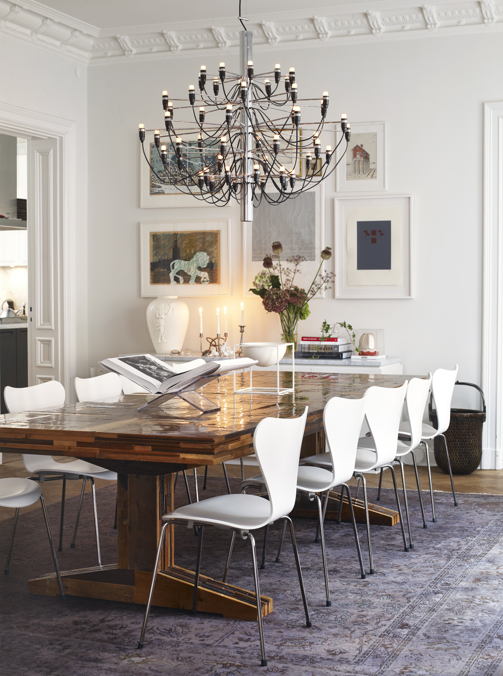 Isa s klassiska hem l genhets inspiration - Stylish home design inspiration ideas in different styles ...
