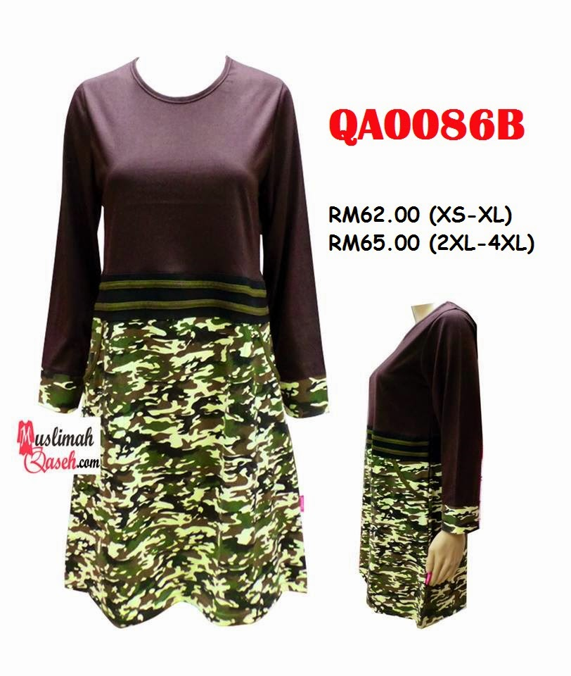 T-Shirt-Muslimah-Qaseh-QA0086B