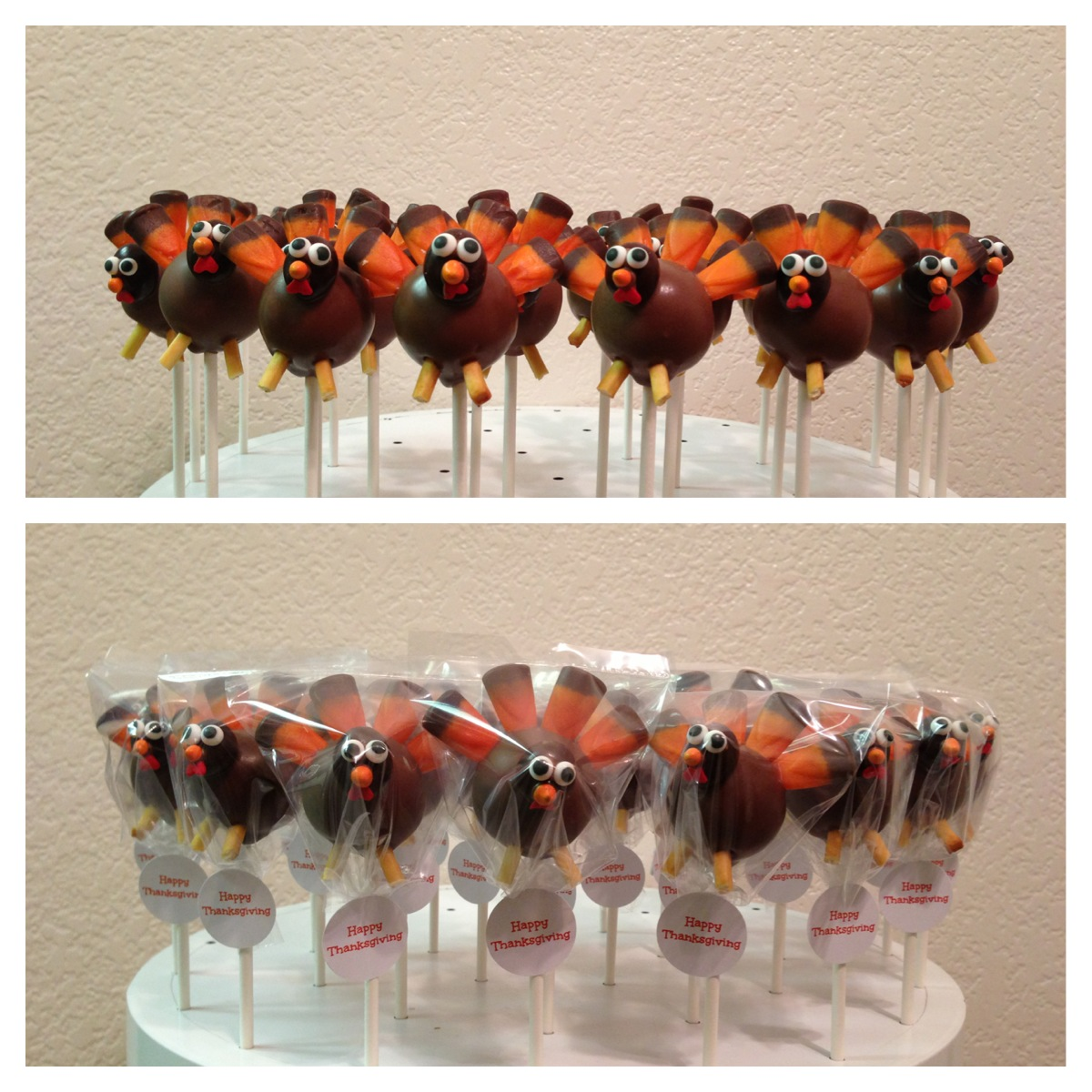 Images Of Turkey Cake Pops : vypassetti cake pops: December 2012