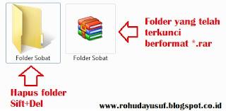 file winrar kunci folder