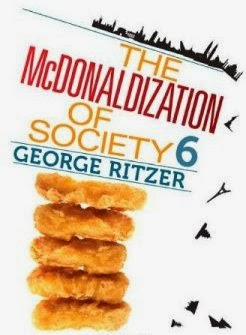 what is ritzers thesis of the mcdonaldization of our society