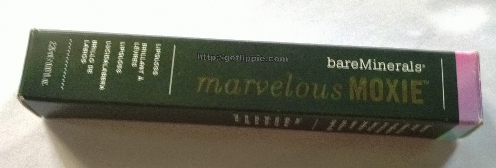 Bare Mineral Marvelous Moxie Lipgloss in Hypnotic - Get Lippie