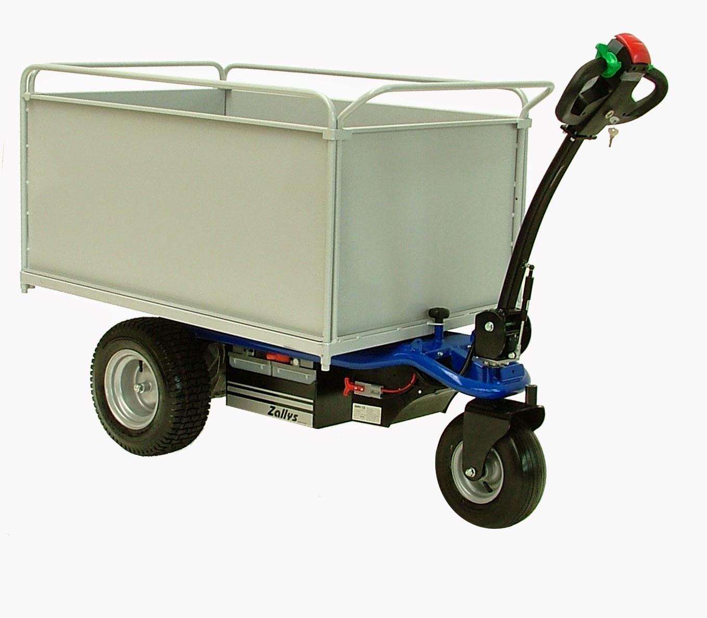 Motorized Cart Zallys Ht Electric Pedestrian Operated
