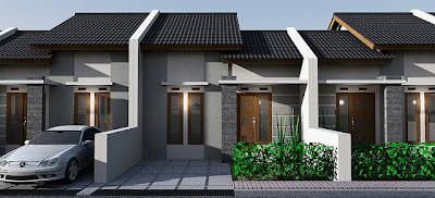 Model Rumah Kecil minimalis modern