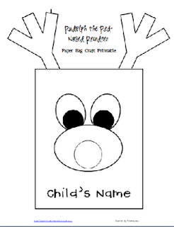 http://www.teacherspayteachers.com/Product/FREE-RudolphReindeer-Paper-Bag-Template-and-Writing-Project-1016621