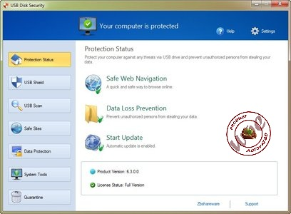USB Disk Security 6.3 Final Multilingual Incl Keygen