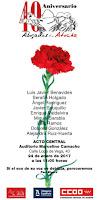 40 Aniversario Abogados de Atocha
