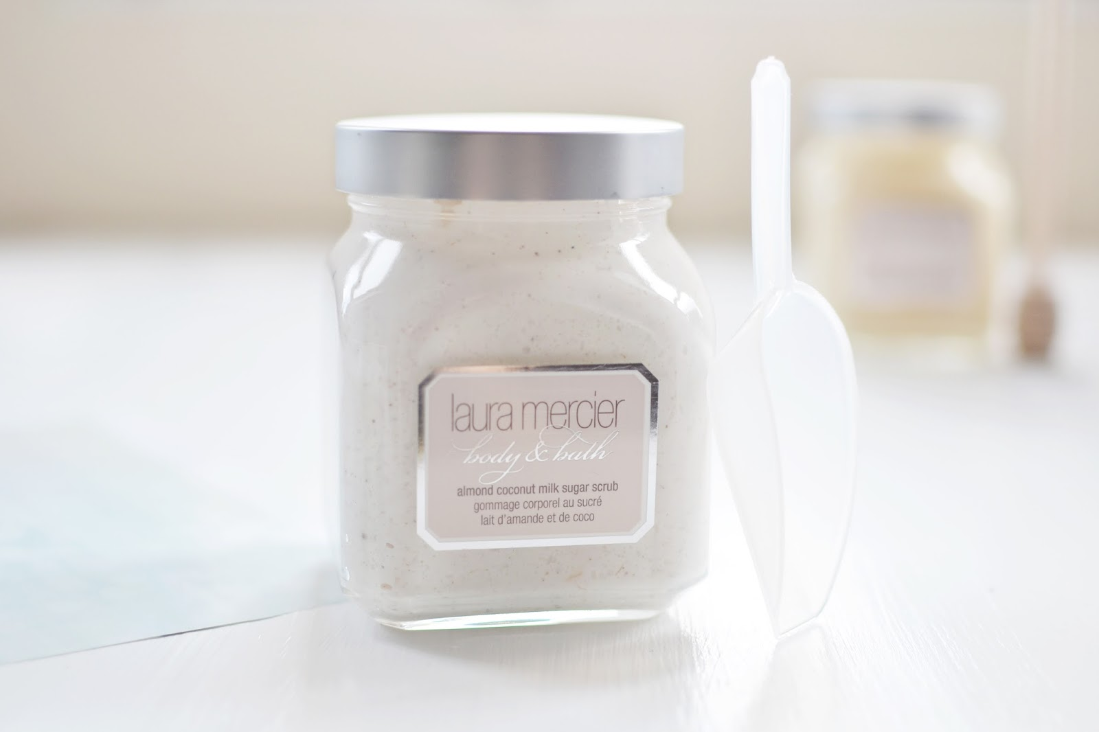 Laura Mercier Almond Coconut sugar scrub