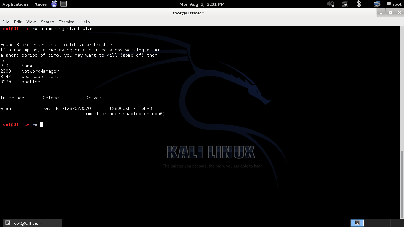 how to create a botnet with kali linux