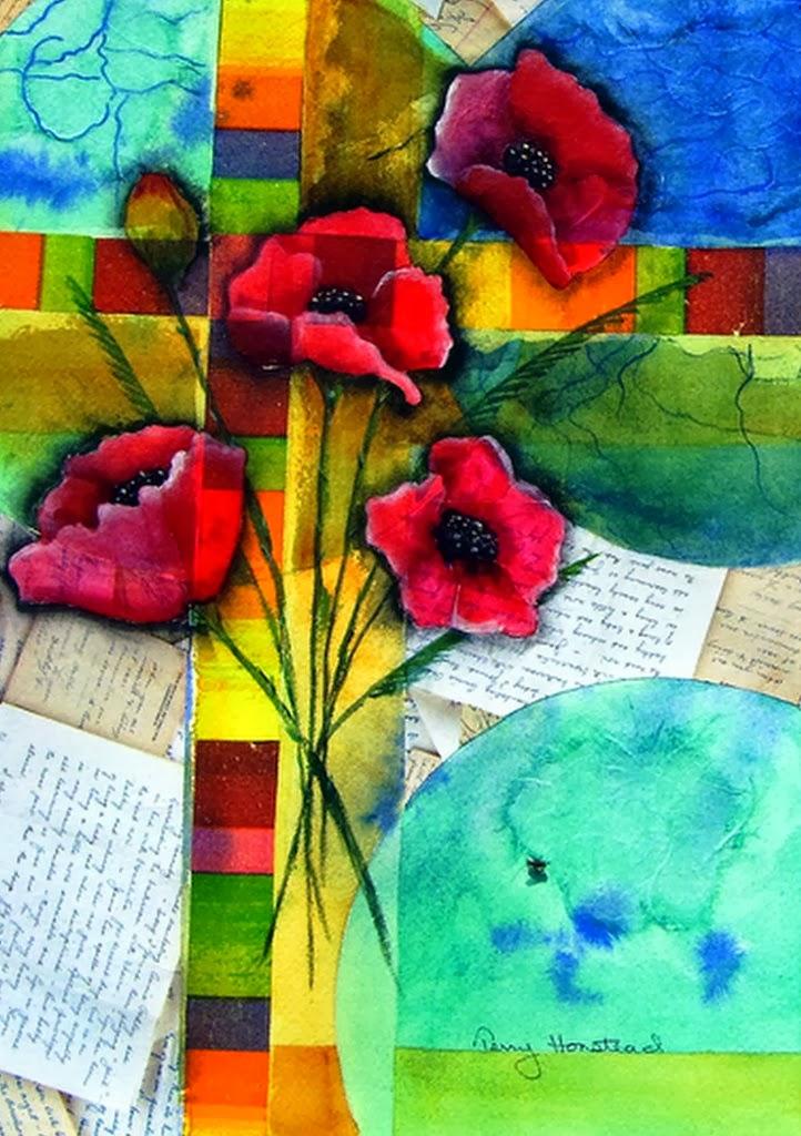 Cuadros modernos pinturas y dibujos cuadros de flores al for Cuadros al oleo modernos