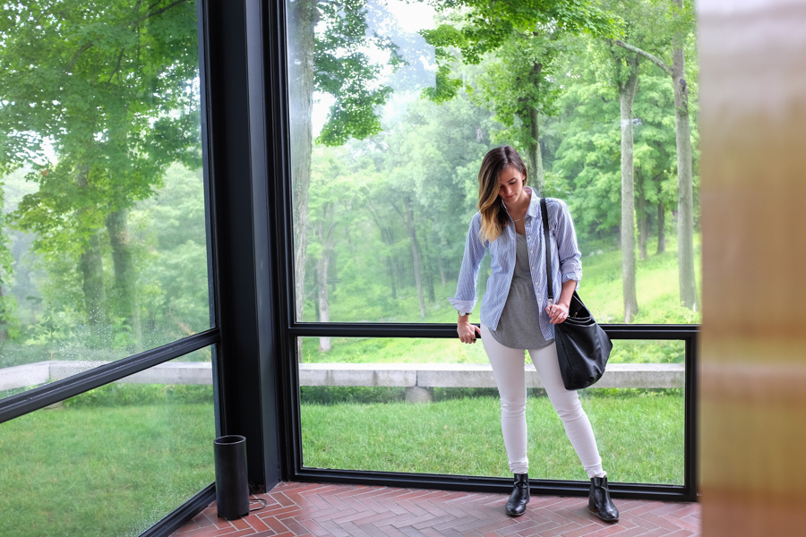Levitate Style Travel: Connecticut #CTvisit | Philip Glass House New Canaan, CT, PJ Glass House, Architecture, Alicia Mara