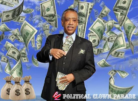 al sharpton money