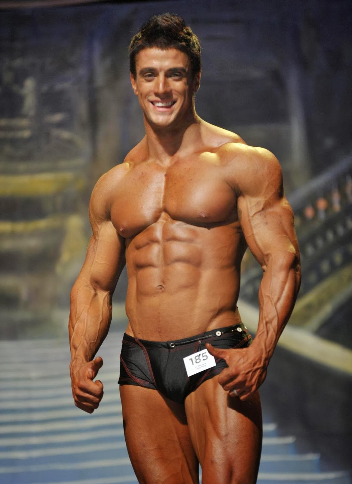 Jaco De Bruyn- Male Fitness Model