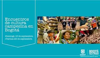 Encuentros de cultura campesina en Bogotá