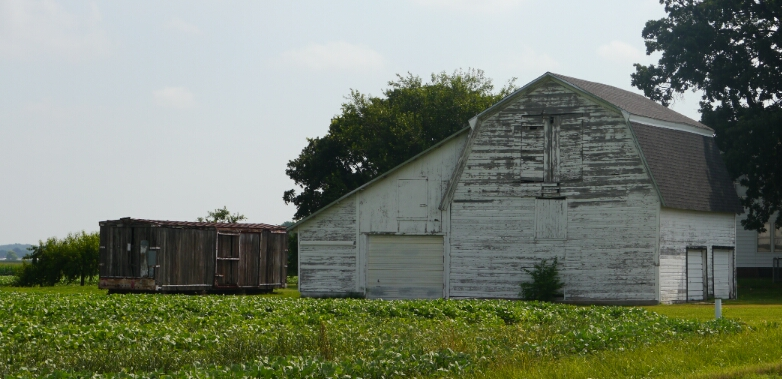 oldest boxcar shed