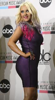 Christina Aguilera in Los Angeles