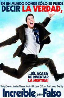 Película Increíble pero falso, de Ricky Gervais y Matthew Robinson - Cine de Escritor