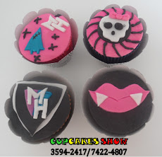 Cupcakes Monster hight