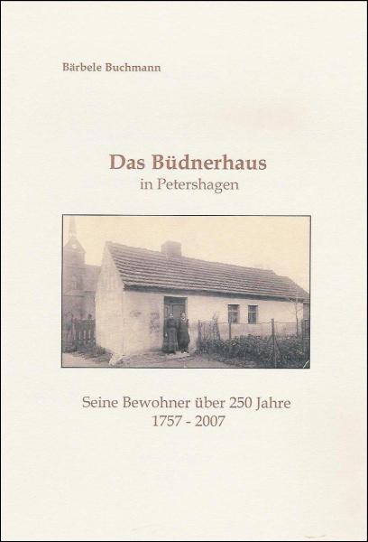 "Broschüre ""Das Büdnerhaus in Petershagen"""